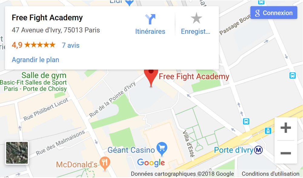 Mixed Martial Arts Paris Club Free Fight Academy Salle Paris 13.png