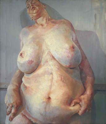 Jenny Saville, Branded, oil on canvas, 1992