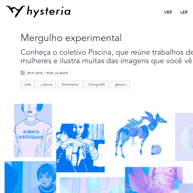 hysteria | janeiro 2018