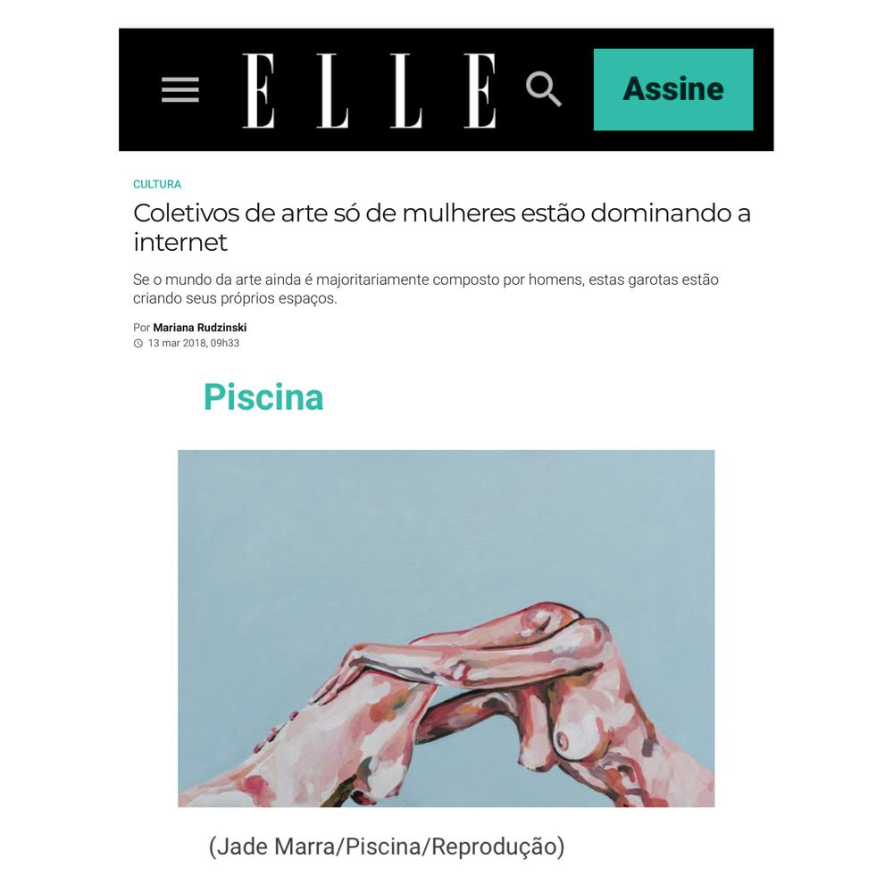 site elle | março 2018