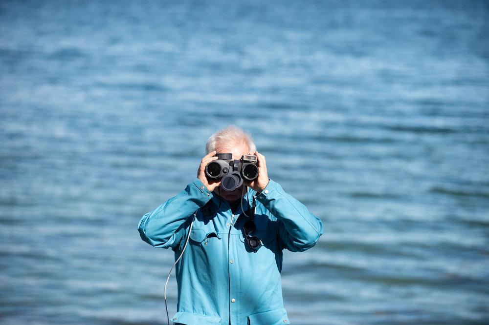 Scoping Out a Smarter Future - Artikkel om korleis Equinor har utvikla SmartScope, ein kikkert som gjer det lett å observera pattedyr til sjøs.