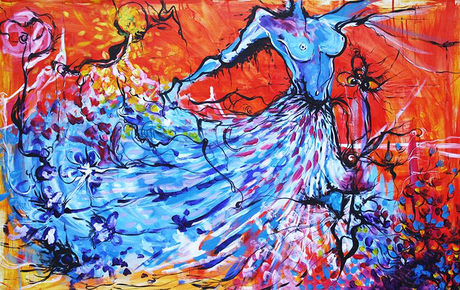 Full-color Spectrum Dance
