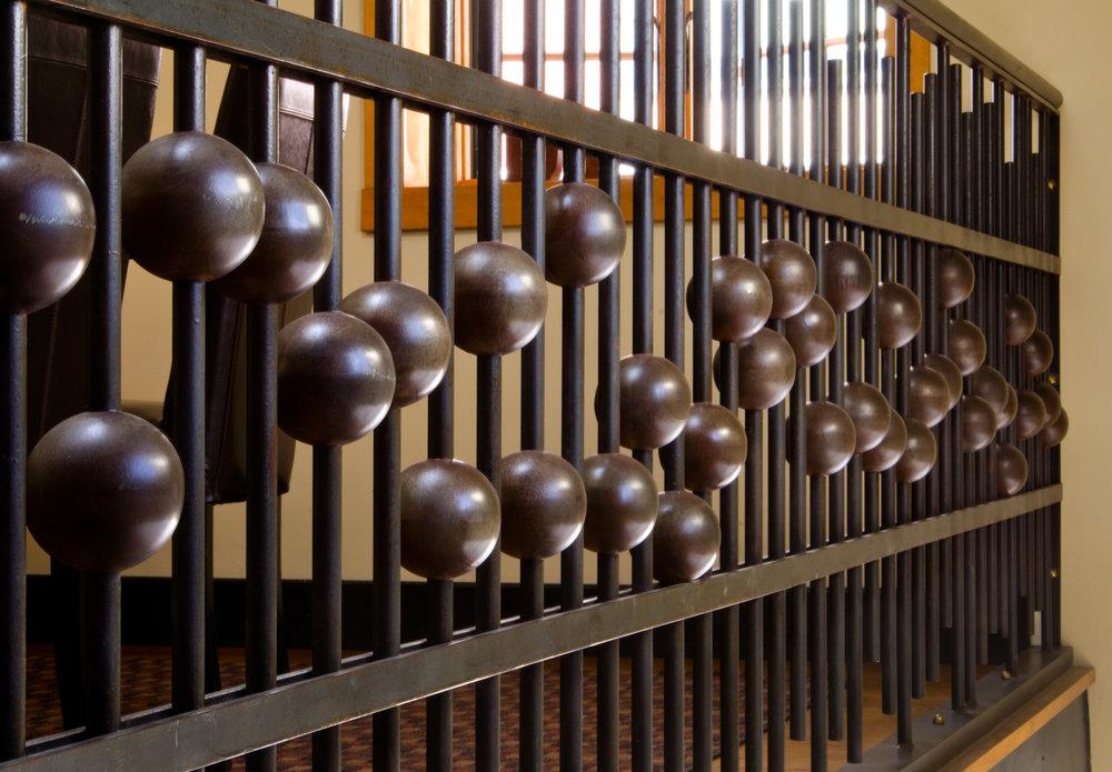 Sound Board Staircase Railing
