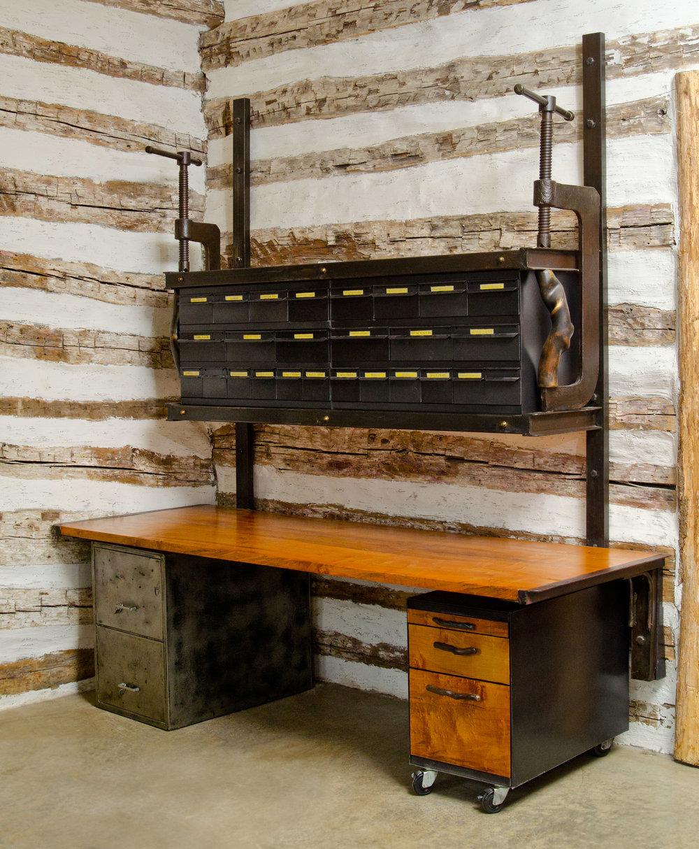 Cooper Den Shelf Desk