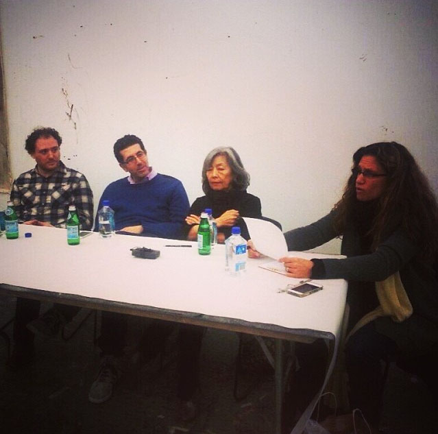 Christopher Howard, Hrag Vartanian, Lilly Wei, and Sharon Louden (2013)