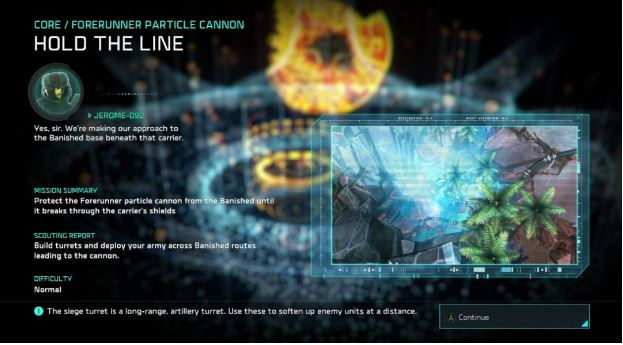 Halo War 2 disguised the loading screen as a briefing that provided narrative, hints and tactics info.
