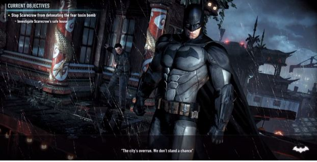 Arkham Knight helps players to quickly remember where they left off.