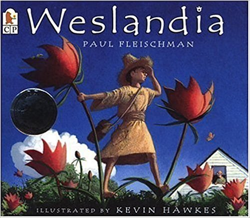Westlandia - A left-out boy creates an entire civilization in his backyard- complete with a unique language, a native crop, and homemade clothing. This book creates endless discussions and imaginative play ideas.