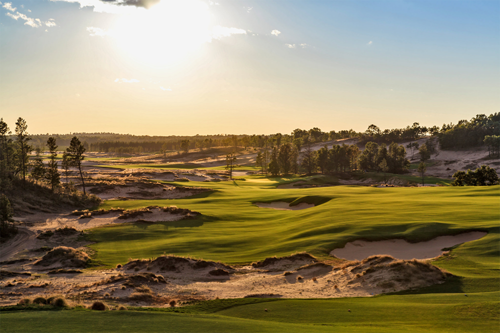 A course at the Sand Valley golf resort in Nekoosa, Wis. CreditRyan Farrow