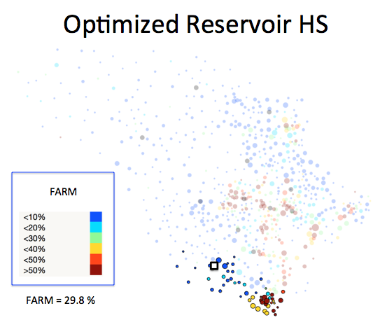 Figure 1 (J): Reservoir HS District Optimized Plan