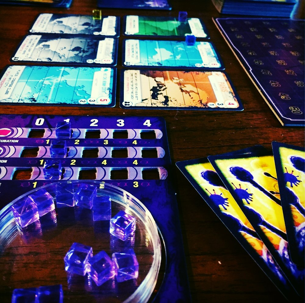 It's Pandemic, but with competition! And you're the virus!