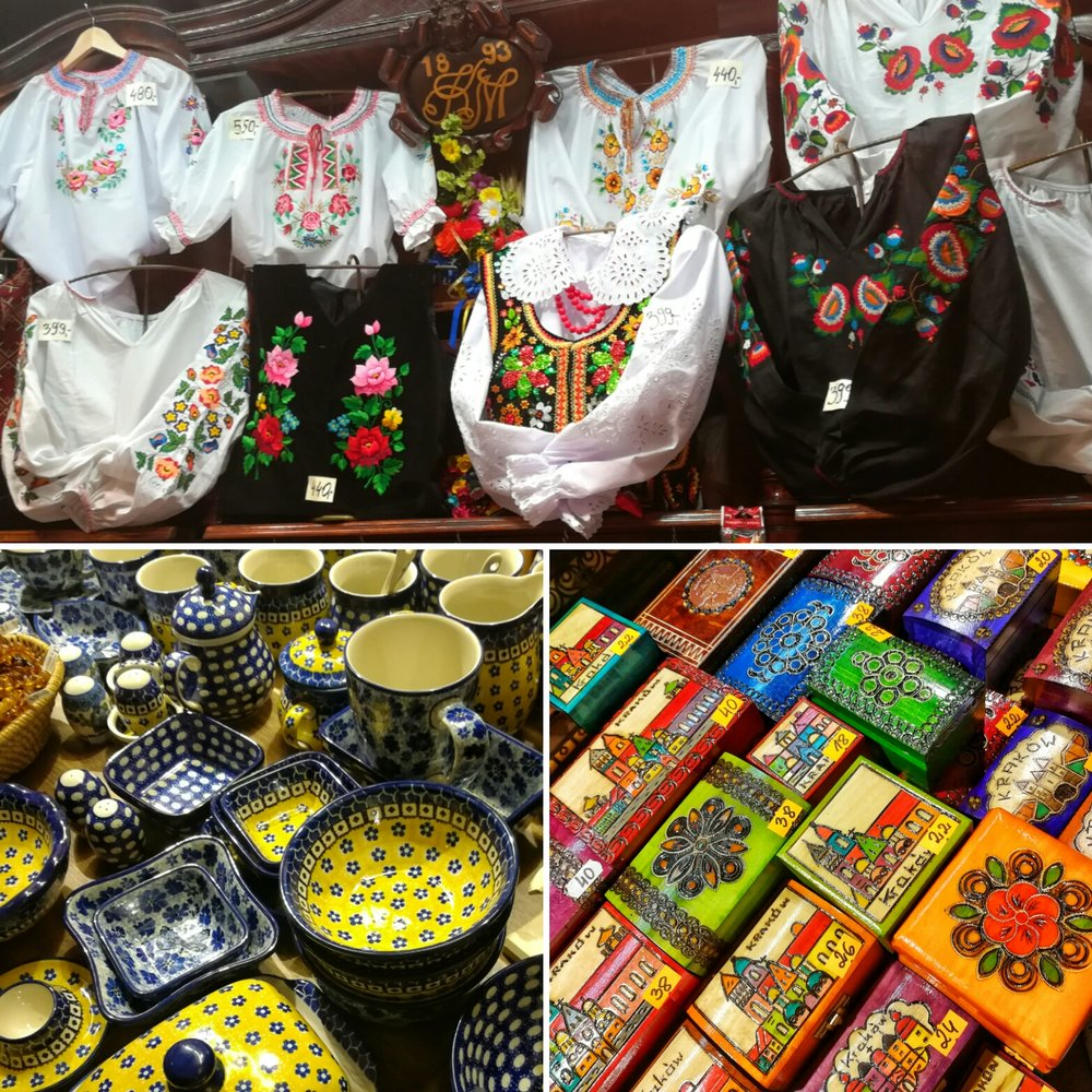Some fun things you can buy at cloth mall.
