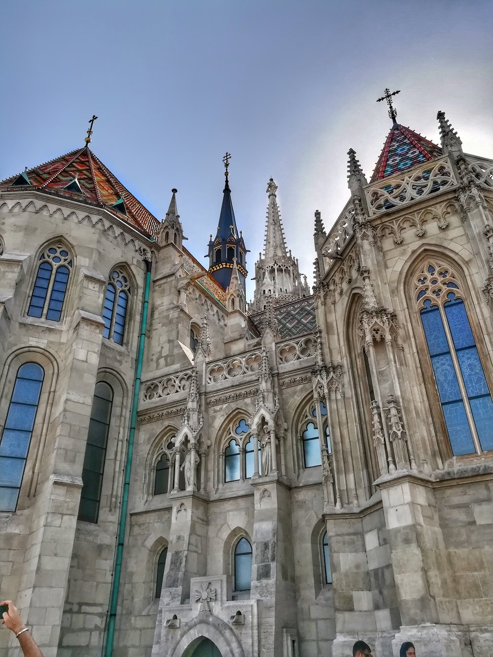Matthias church (and the cute roof tiles you'll see spread throughout the city)