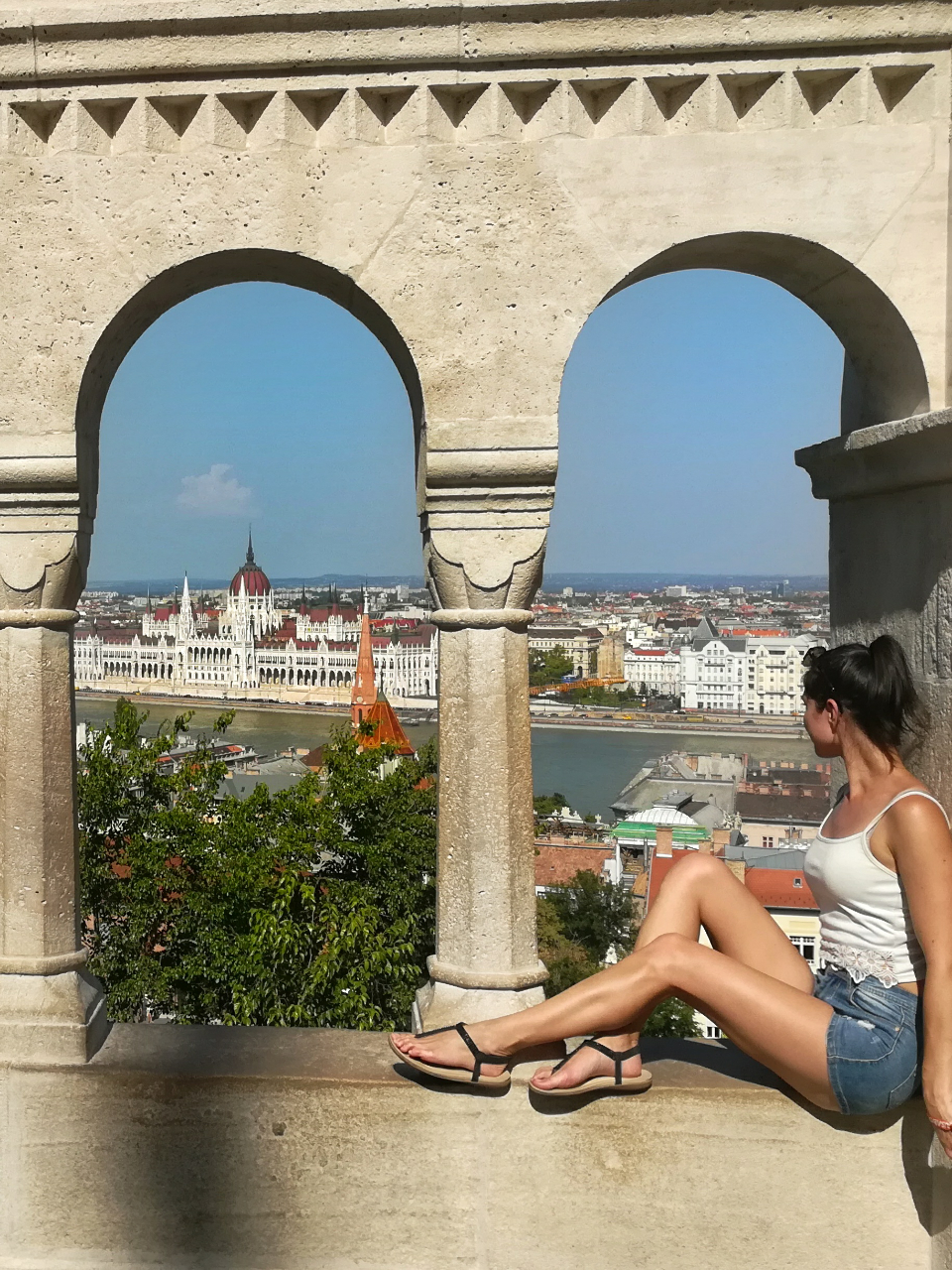 From fisherman's bastion