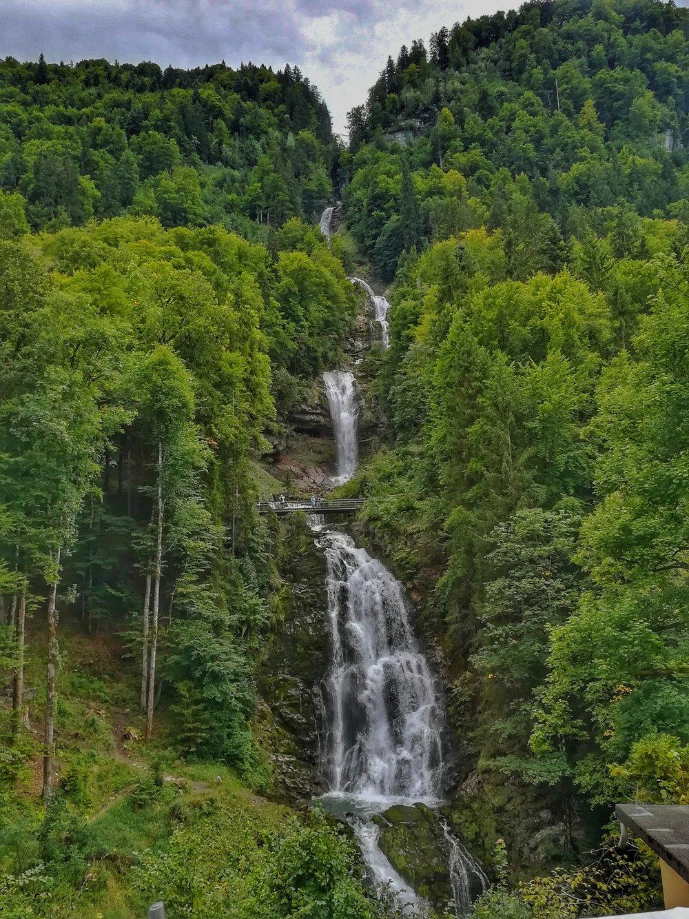 Breathtaking waterfalls everywhere