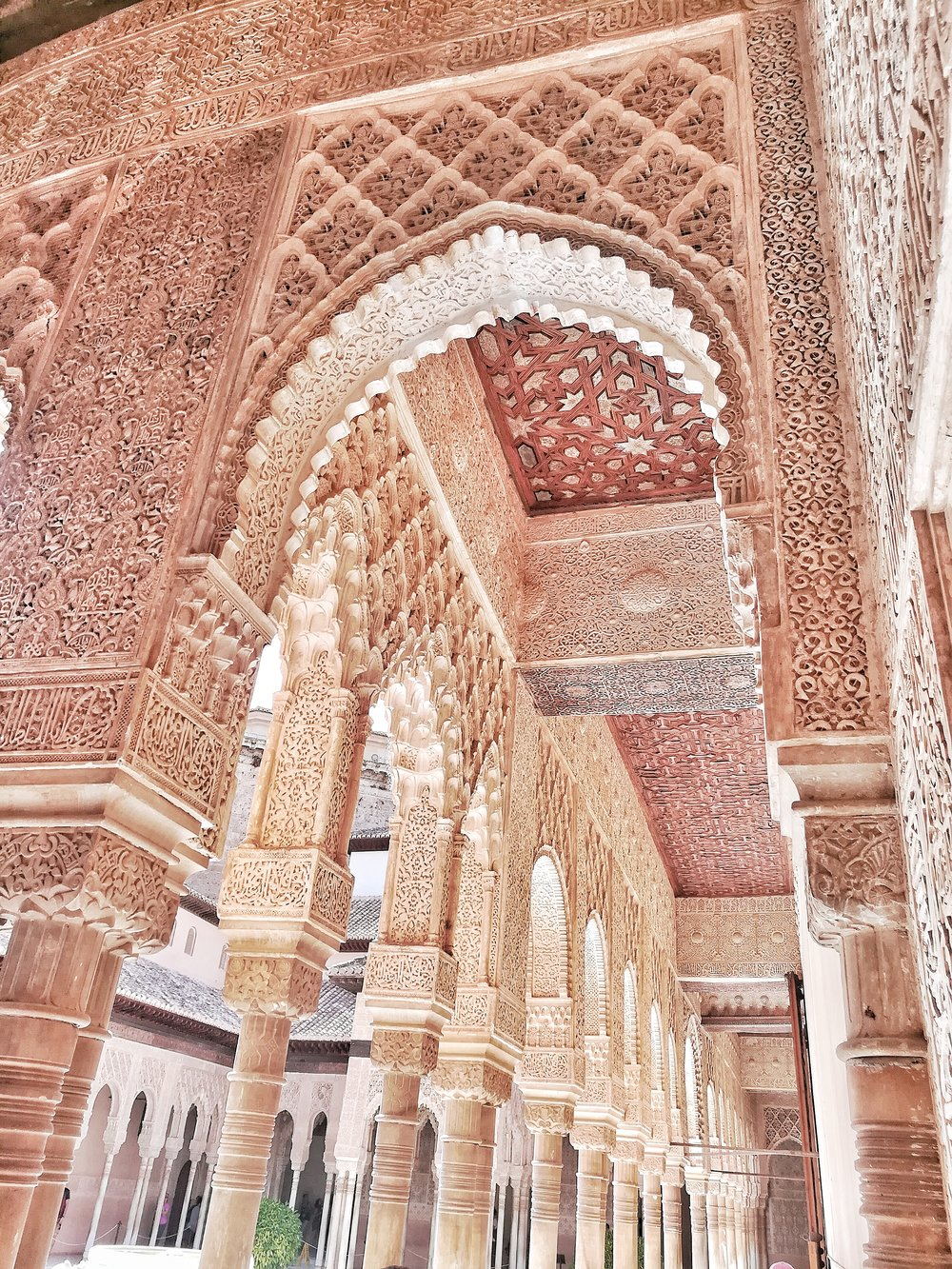 The beautiful details of Alcazar
