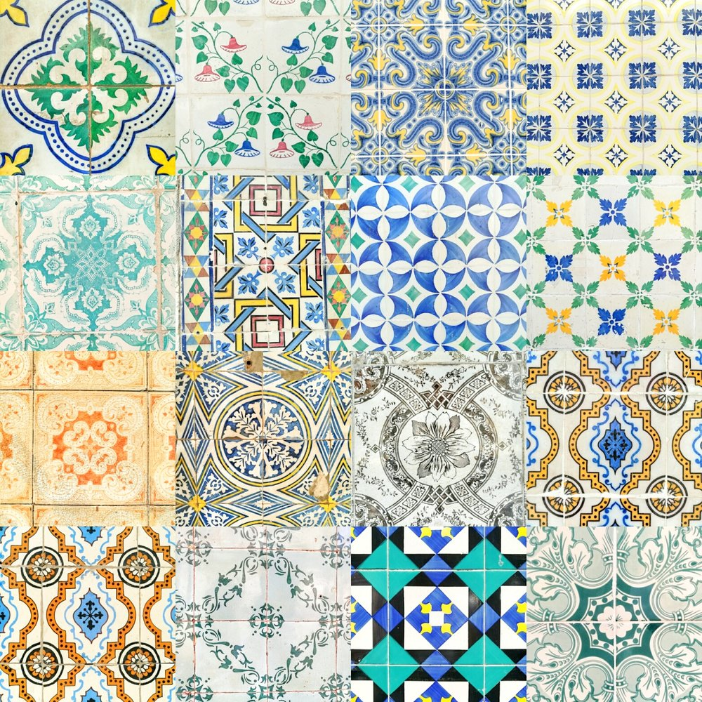 Just some of the awesome patterns that covered the buildings facades