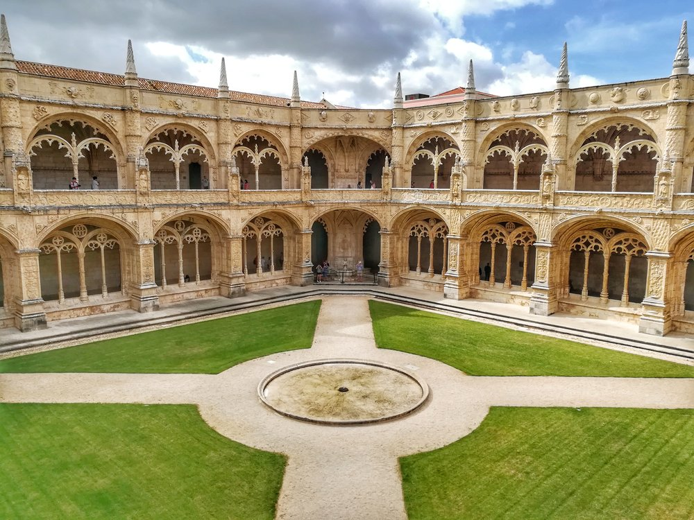 The 500 year old monastery also showcases a detailed historic timeline of Portugal, and a cathedral