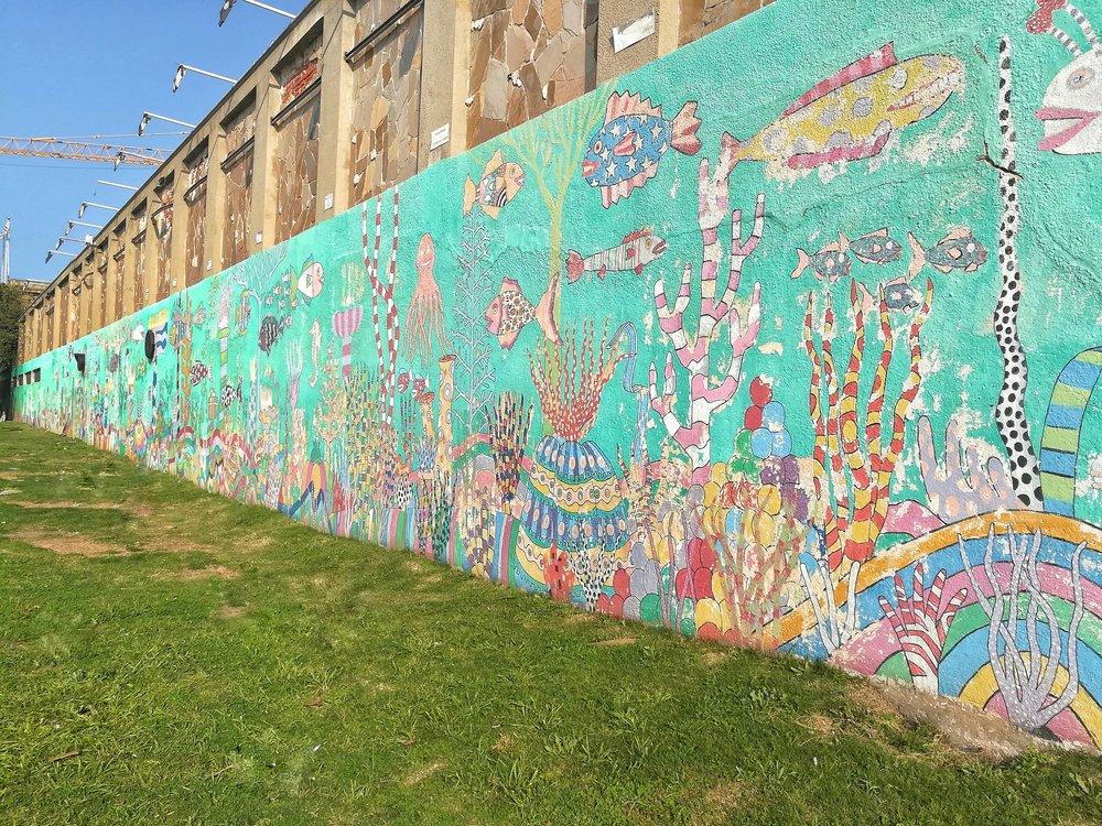 Fun art in Montevideo