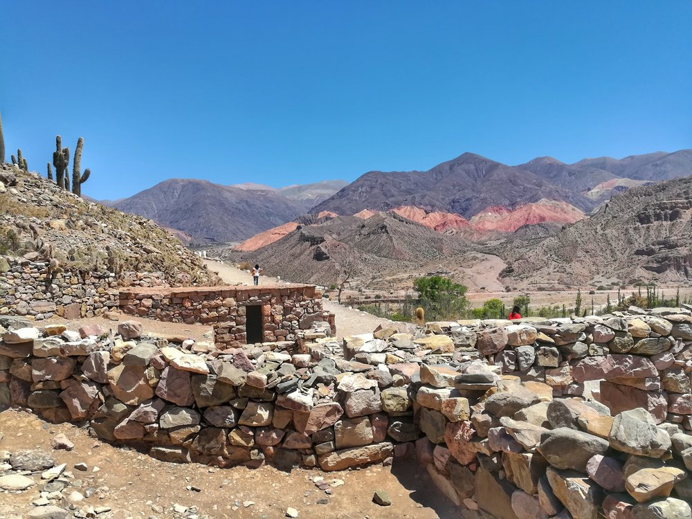 Inca ruins with nice views