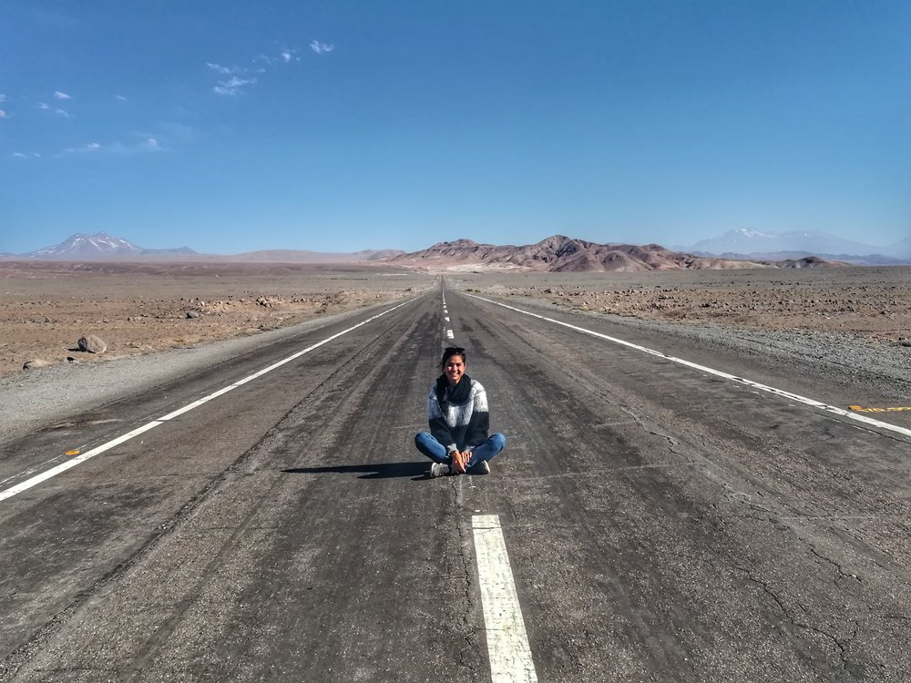 I'm on a road to nowhere