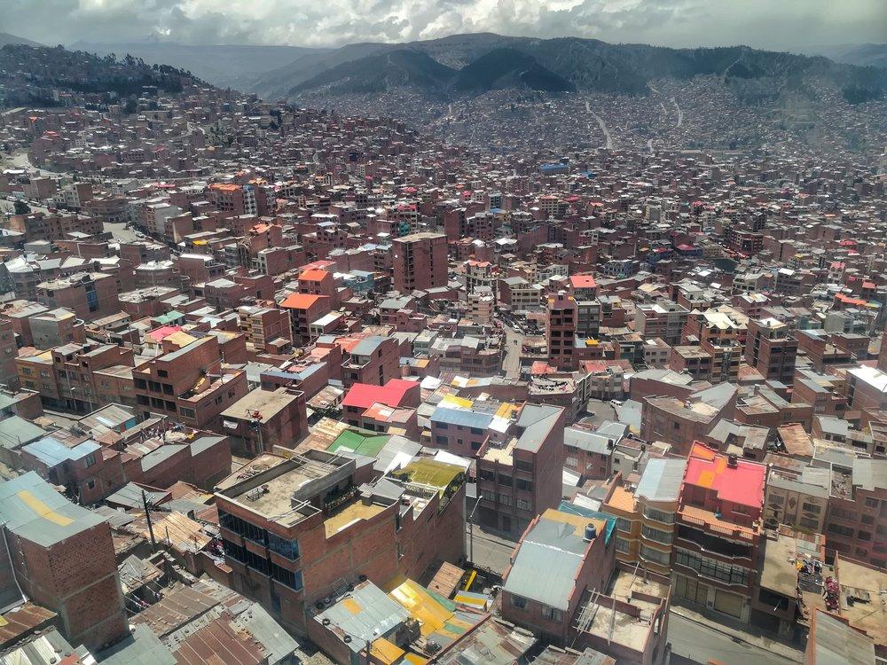 La Paz is pretty bloody big