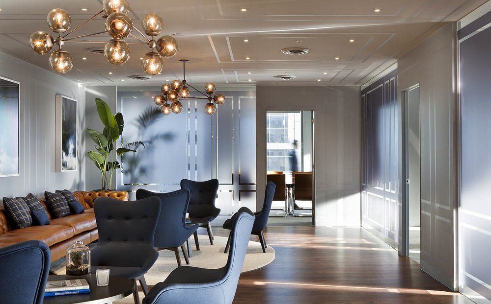 COMMERCIAL INTERIORS - OUR WORK