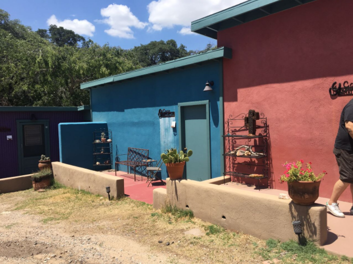 Casitas, our living accommodations, at MCSW 2018 — Mindcamp Southwest