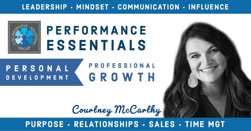 Courtney McCarthy - We will also be joined by Courtney McCarthy who will serve as our Master of Ceremonies and will run our team accountability program. Courtney has over a decade of sales training, coaching, and execution.
