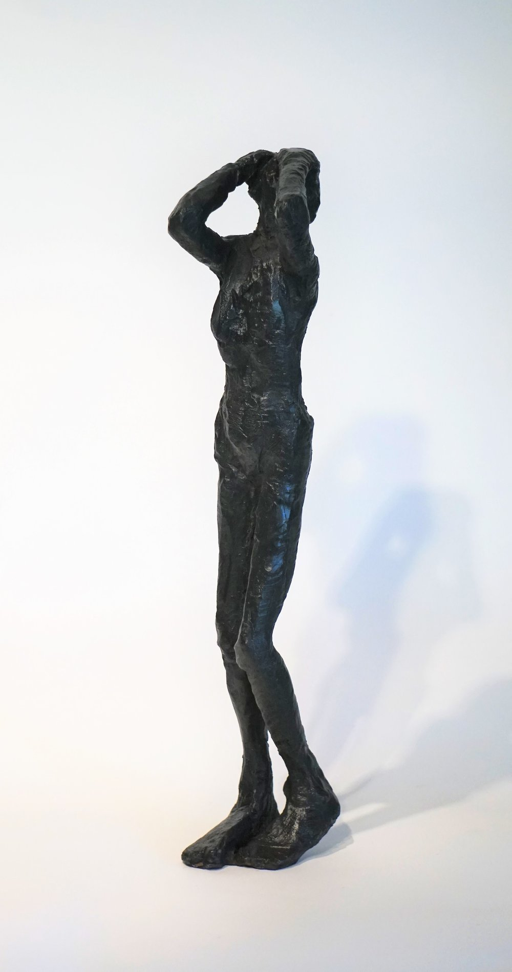 "Eric Saint Georges    Desespoir   Sculpture  Size: 4 x 15""  $1,300.00"