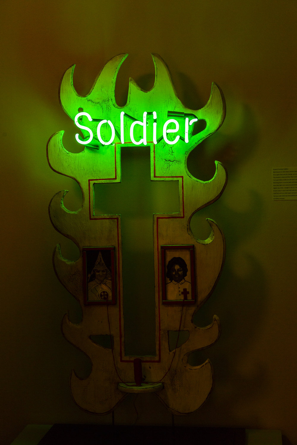Soldier Installation at  3.9 Collective's  Room for  stARTup SF 2018