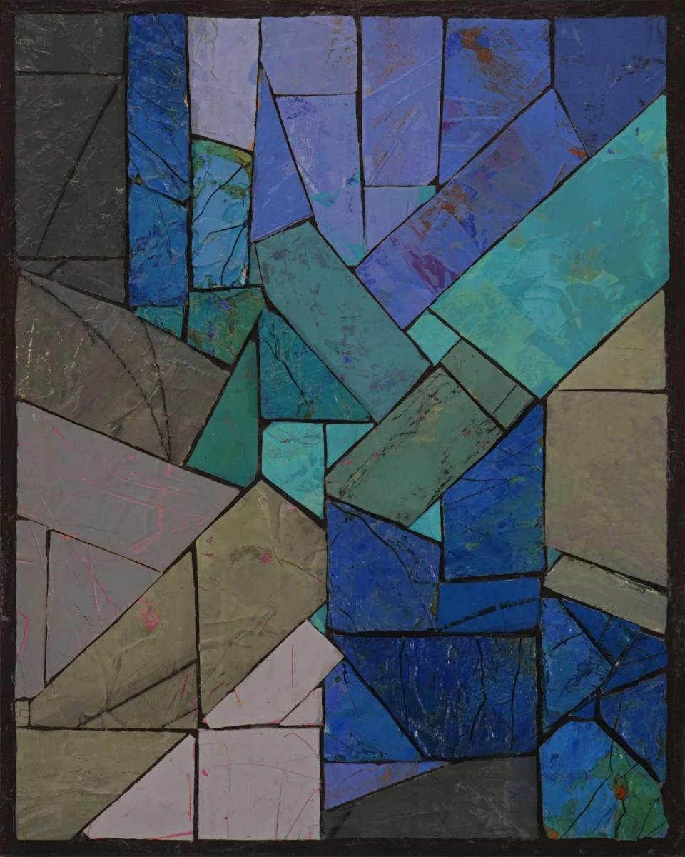 "No. 376   Mixed-media painting on Canvas  by Steven Hight  Size: 16 x 20""   $1,100.00"