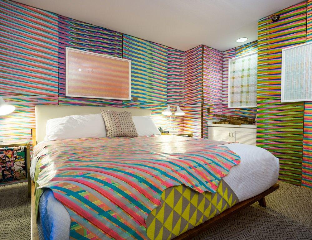 Mikey Kelly's room installation, stARTup LA 2018