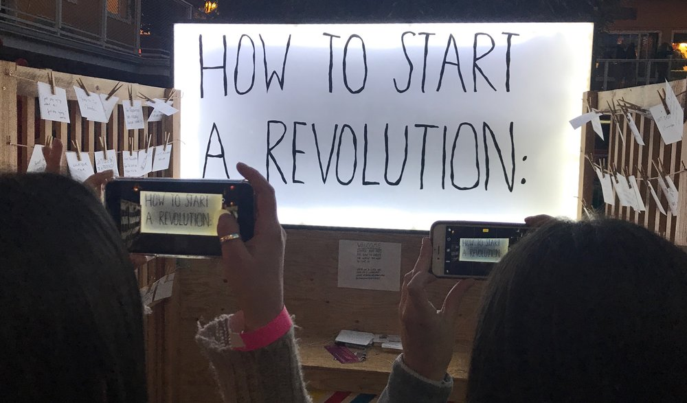 "Hunter Franks' ""How To Start a Revolution"" at  stARTup SF 2018"