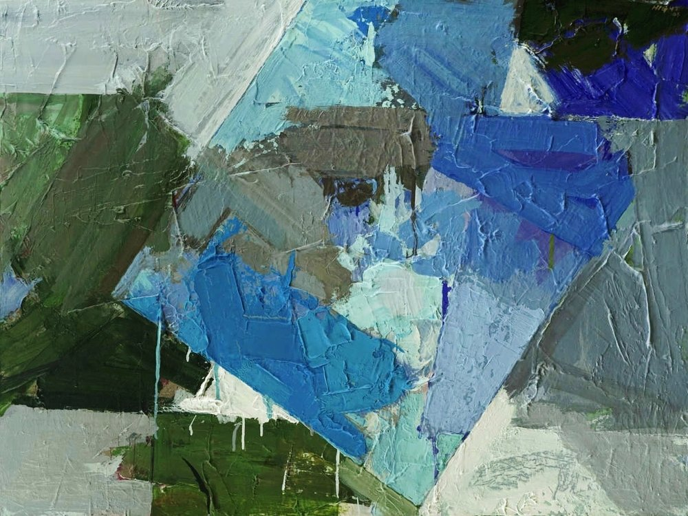 "No. 313   Steven Hight  Acrylic on Canvas  30"" x 40""    $3,200"