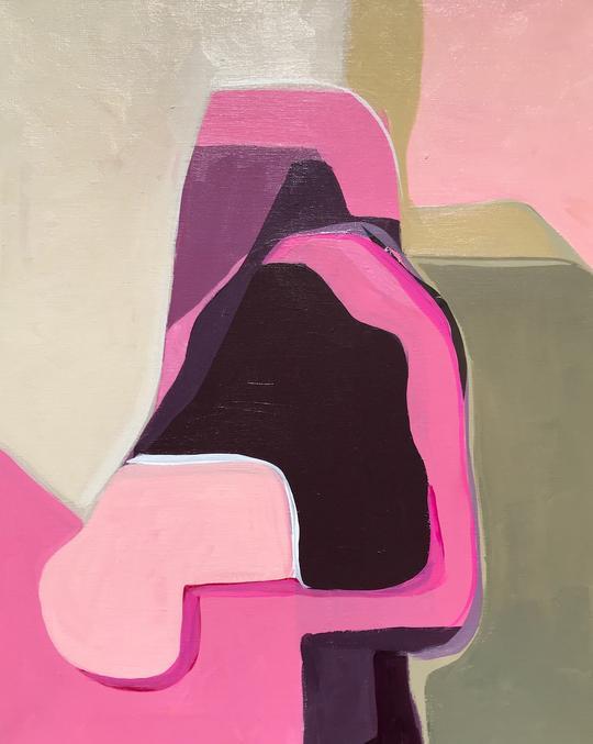Lynda Keeler    Old Las Palmas   Acrylic on canvas 20 x 16 inches   $ 850.00