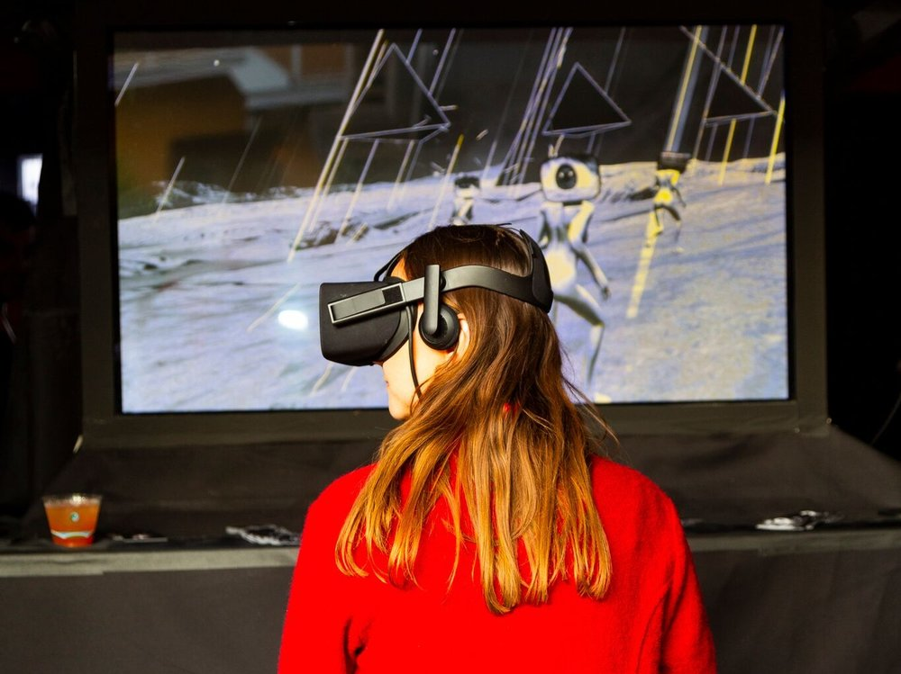 Camila Magrane's VR experience at stARTup SF 2018. Camila is returning to    stARTup LA 2019    in    Room 215.