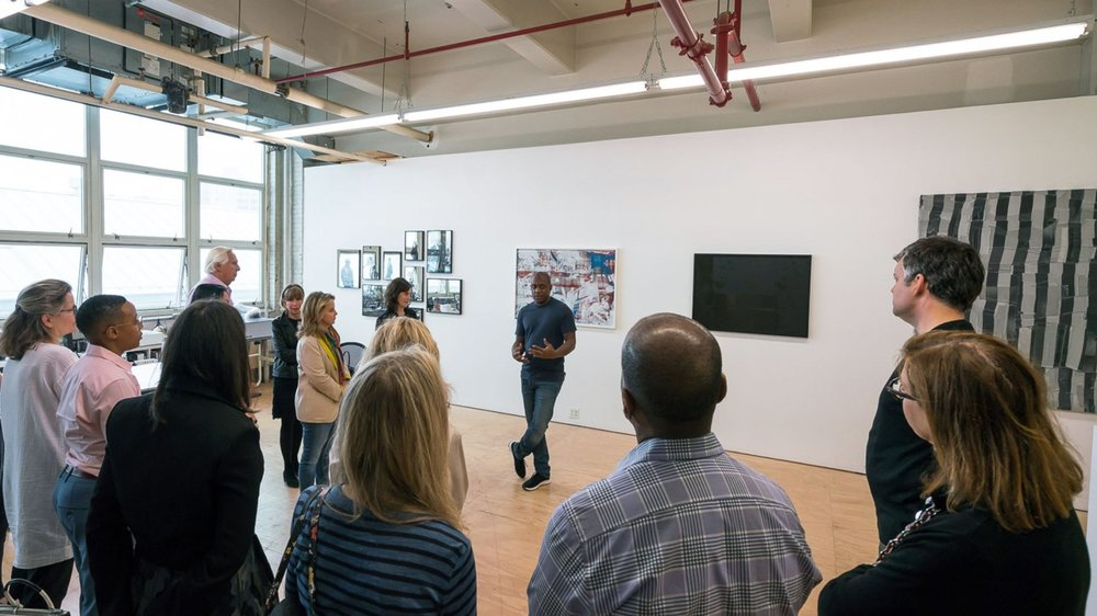 Guggenheim    Studio visit with Hank Willis Thomas
