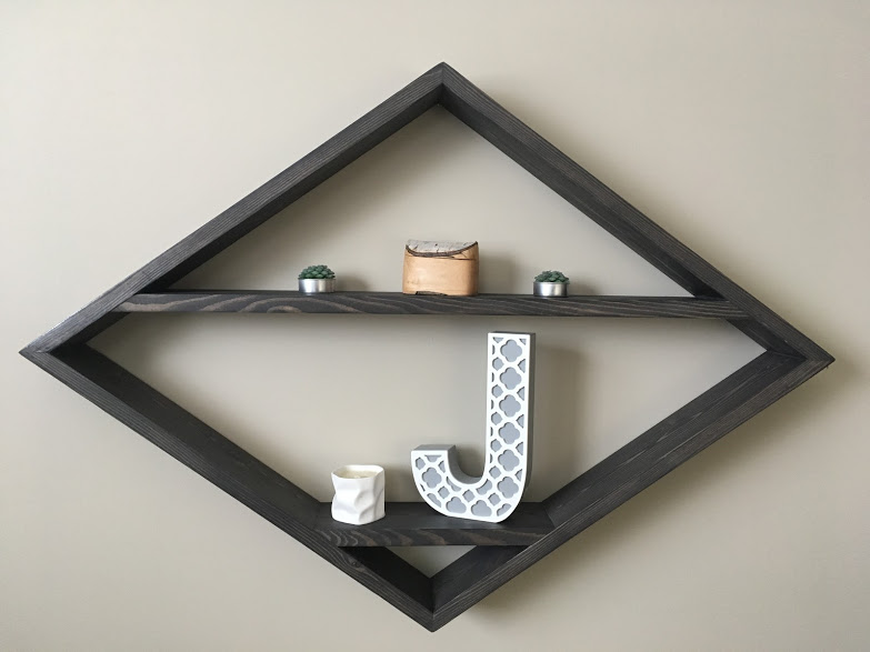 Diamond Shelf $55 - Dimensions - 33