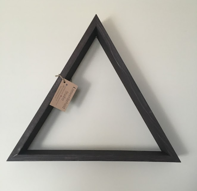 Original Triangle Shelf $30 - Chocolate Brown