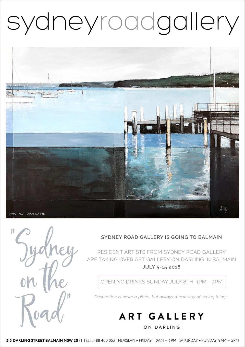 SYDNEY ON THE ROAD -