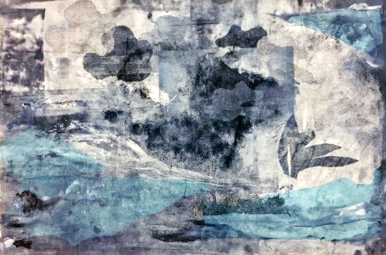 Sarah Montgomery  'Cloudscape' $600