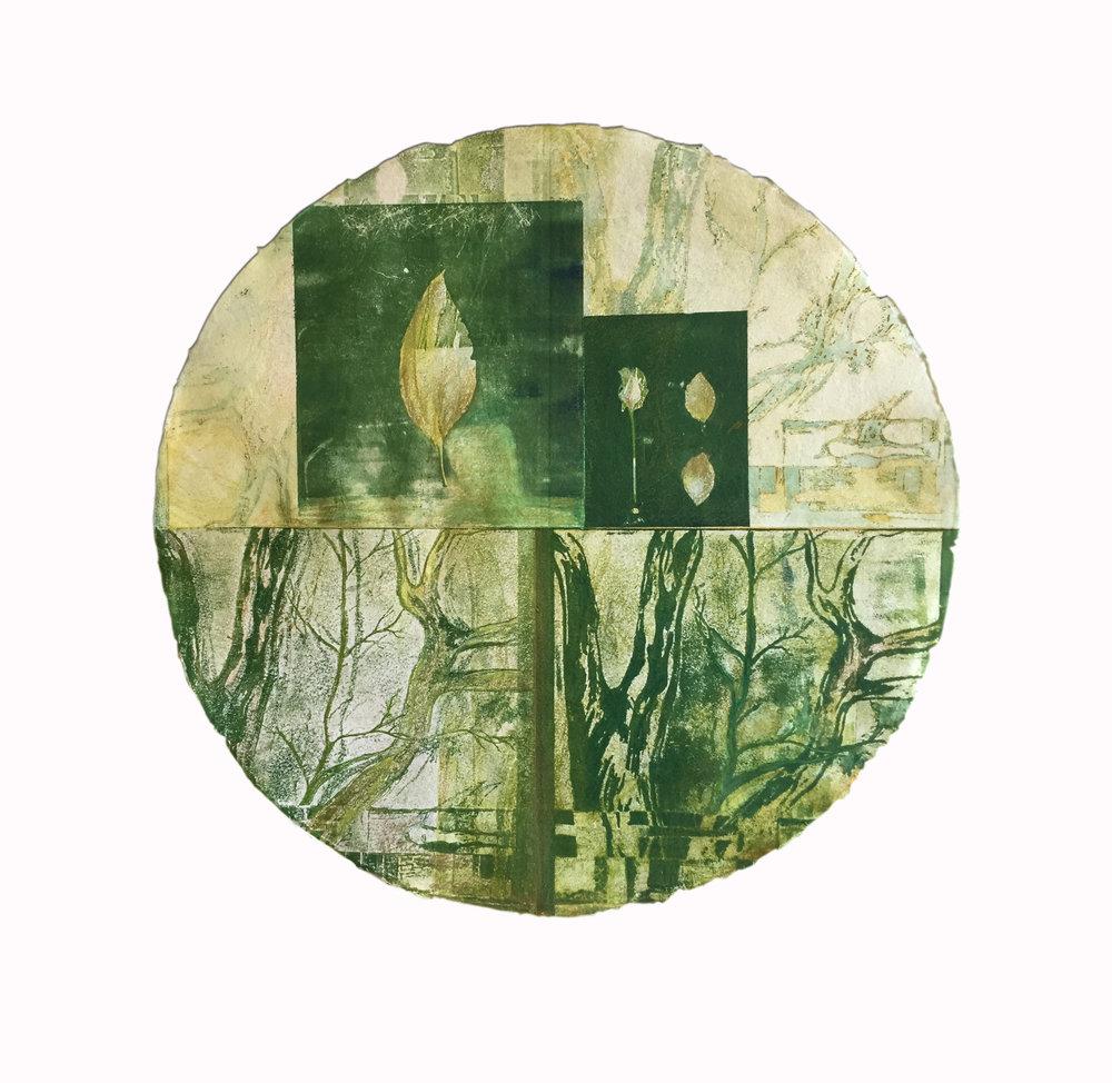 Sarah Montgomery 'Through My Window' $800