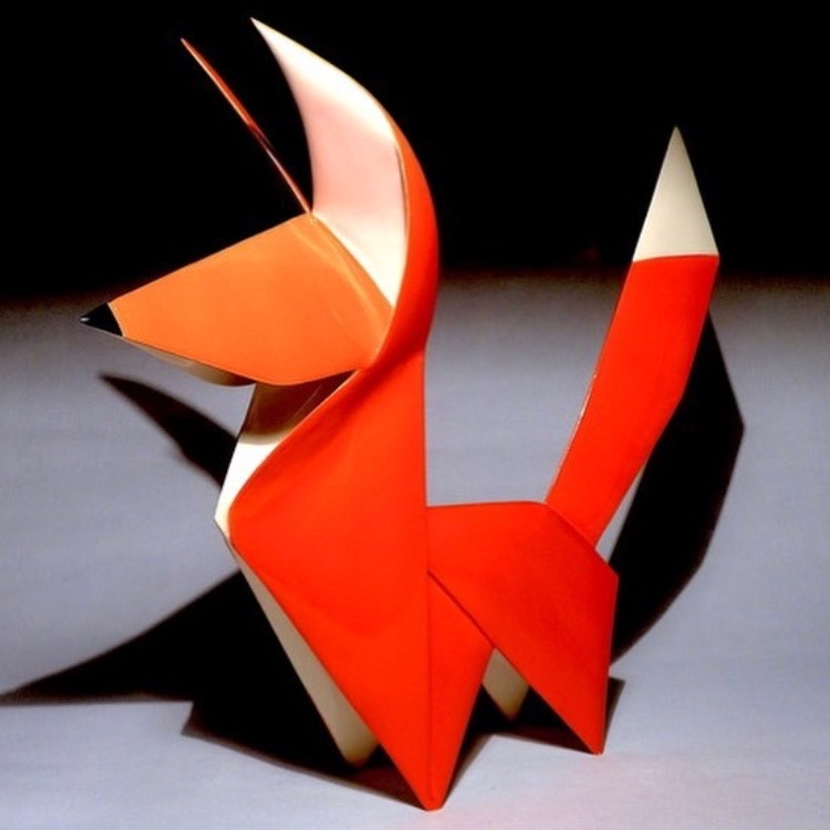 SOLD Tim Clarkson - 'Ceramic Fox'