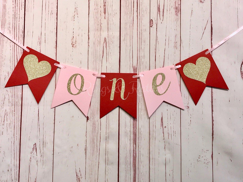 Heart Happy Birthday Banner — Rings & Rattles