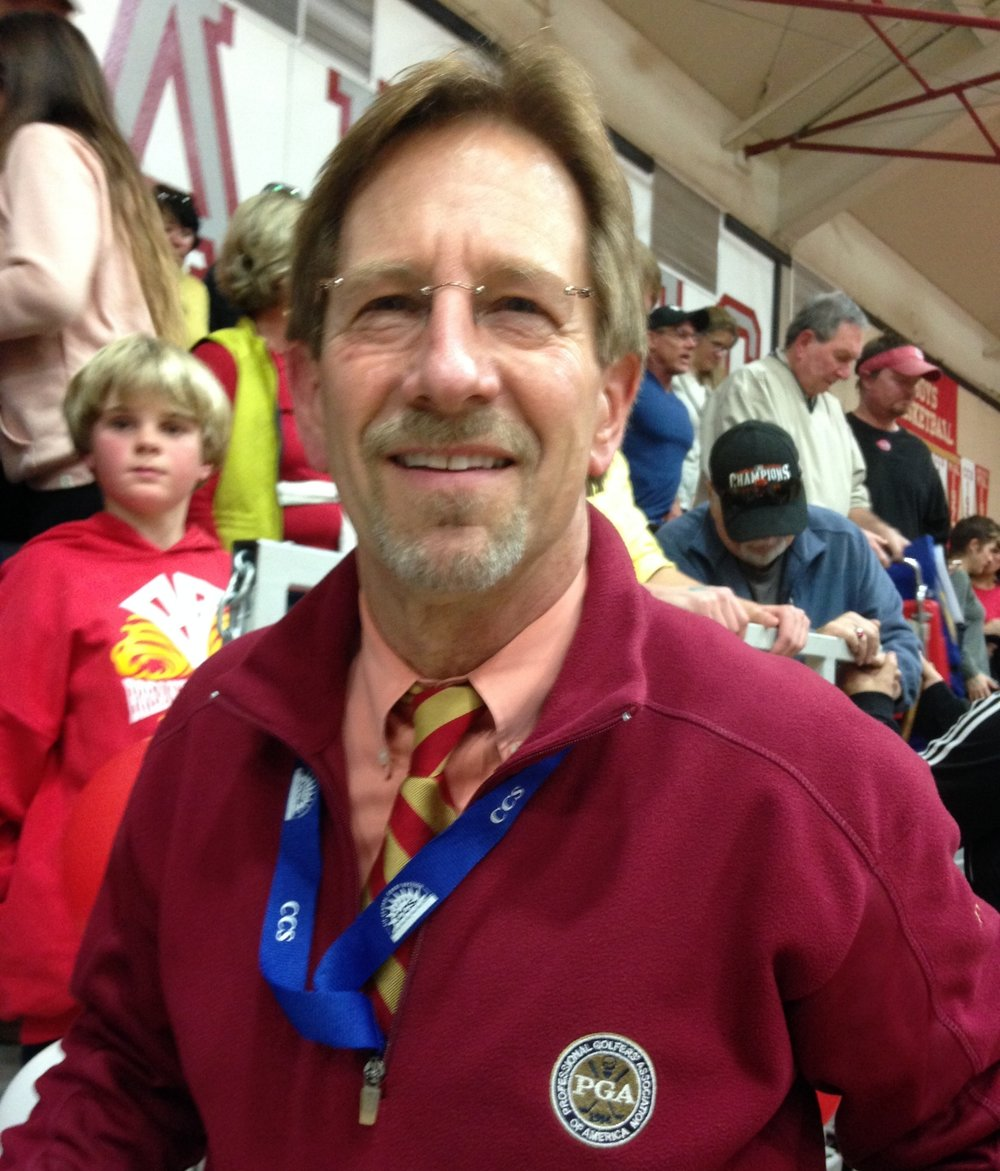 Richard Hackbert - Varsity Scorekeeper - on staff since 2005