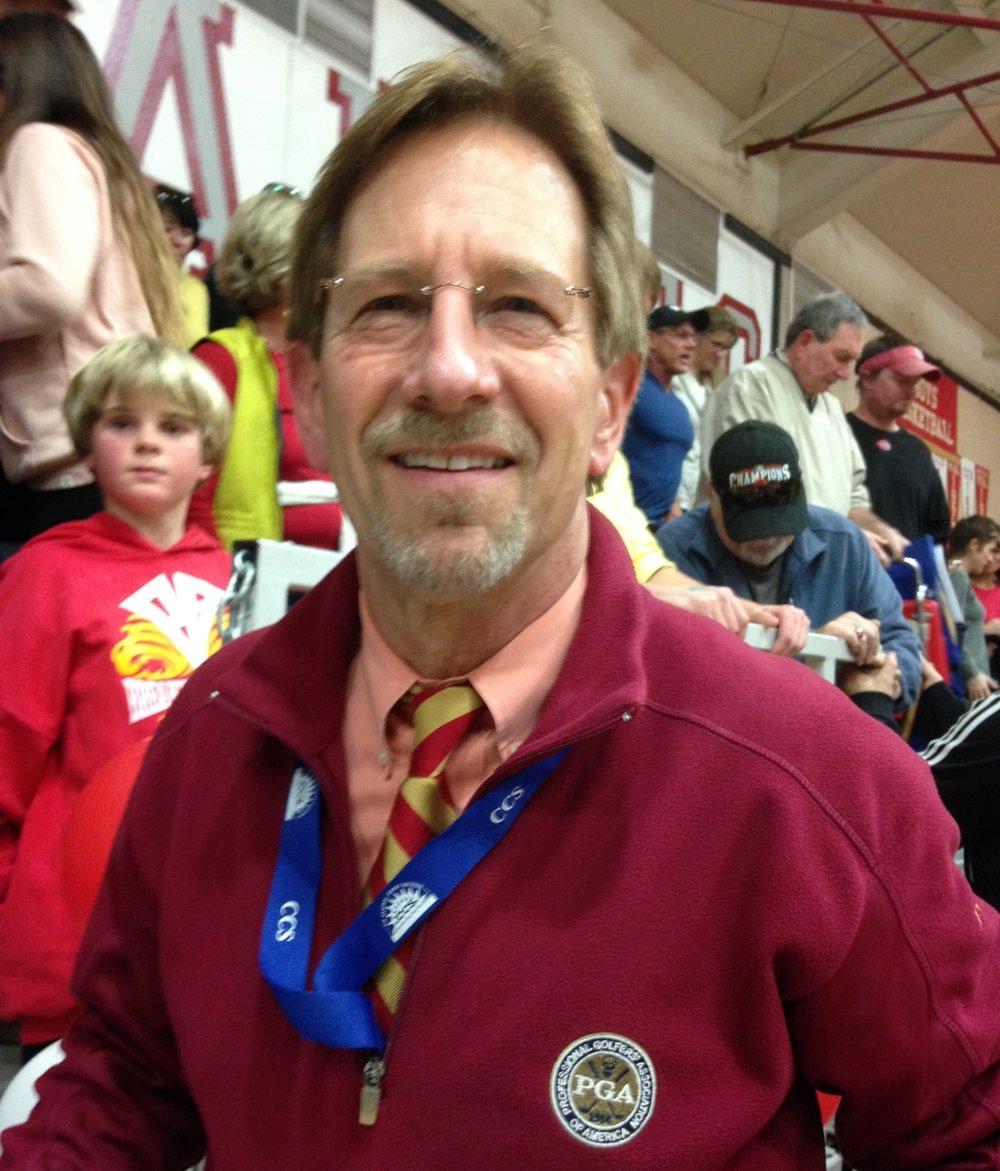 Richard Hackbert - Varsity Scorekeeper - on staff since 2005