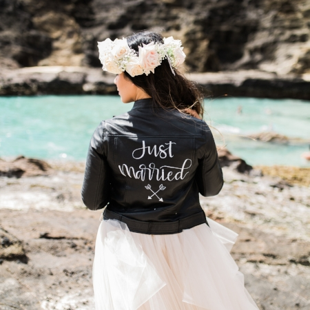 Honolulu, Hawaii - #TheJustMarriedJacketHI