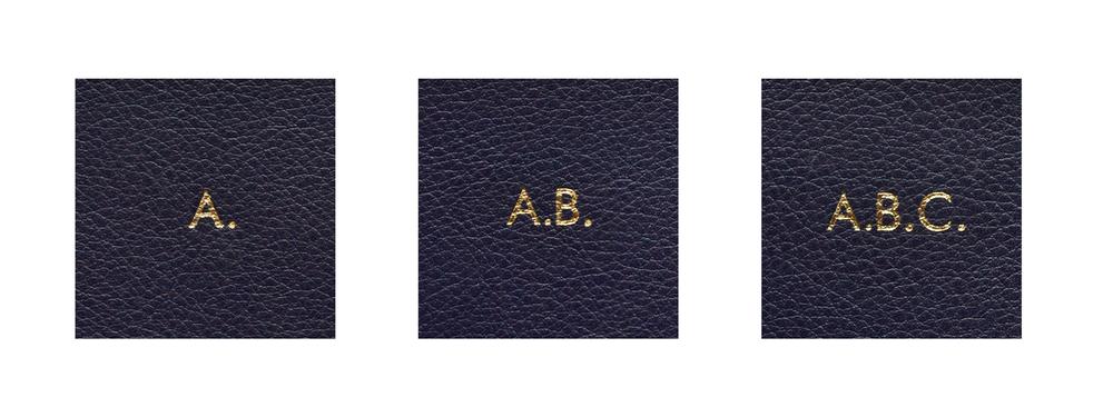 ....Prägung mit Punkt (Beispiel Goldprägung) ..embossing with dots (example of golden embossing) ....