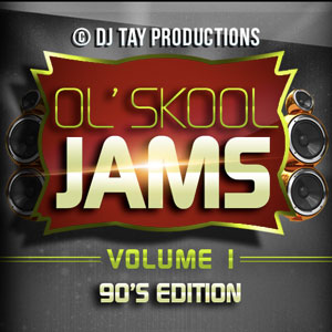 Ol' Skool Jams Vol. 1 - 90s Edition - Featuring Tupac, Soul for Real, Choppa, Mary J. Blige, Master P, Juvenile, Faith Evans, Fatman Scoop, B.B.D, Sugarhill Gang, & more.